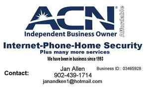 Internet and home phone
