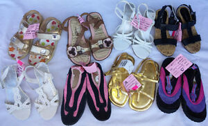 Girls Kids Size  13 - 1 Shoes, Swim, Sandals, Sneakers, etc.
