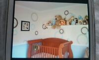 "Complete 4 piece baby bedroom set by ""Morigeau Lepine"""