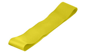 """Exercise Band - 12"""" x 2"""" Loop - Yellow, Light RBBL12208LY"""