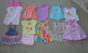 Baby girl summer lot size 18 months