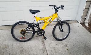 ORYX COBRA FULL SUSPENSION 6 SPEED KIDS MOUNTAIN BIKE