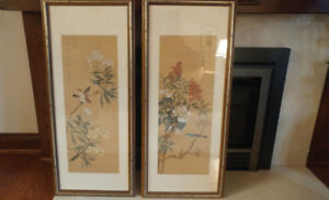 PICTURES – TRADITIONAL CHINESE ON SILK