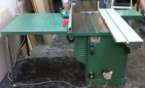 Table Saw With scoring blade