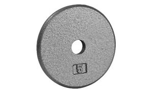 Northern Lights Regular Cast Iron Weight Plate, 5lbs WPR05