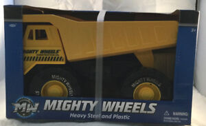 Mighty Wheels Heavy Steel and Plastic Dump Truck-Brand New