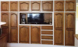 Portes de cuisine a vendre - Kitchen cabinet doors used