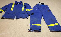 INSULATED FR WORK JACKET AND BIB