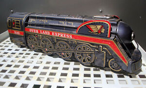 Tin toy train, Masudaya toy train,