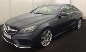 2015 GREY MERCEDES E350 3.0 AMG LINE DIESEL AUTO COUPE CAR FINANCE FROM 71 P/WK