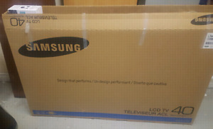 "Led 40"" Samsung tv"