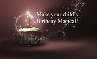 Save $40 On Booking Fee Birthday Magician