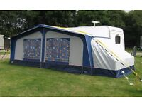 Apache Borneo 1060cm All Season Caravan Awning with End Bedroom, All Accessories included