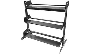 Northern Lights 3 Tier Economy Dumbbell Rack NLDBRE3T3