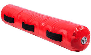 Northern Lights Power Log Bag,Water Filled,90 lb,Red PLWATER90R