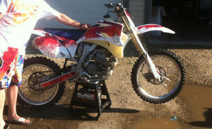 Custom Dirt Bike Graphics, Best Price, Durable Thick Material