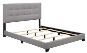 Brand new in box tufted queen bed for sale!!!!!!!!!!!!!!!
