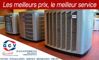Thermopompe centrale ou murale, climatisation, chauffage !