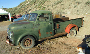1950 Fargo one ton pickup truck with factory steel box