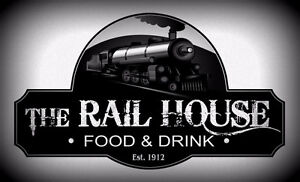 """Bartenders, Kitchen Staff, Security Wanted. """"The Rail House"""""""