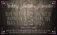 ~~FREE THANK YOU CARDS~~ Wedding Invitations