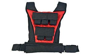 Northern Lights Adjustable Weighted Vest, 10kg WVVLI10BLKRE