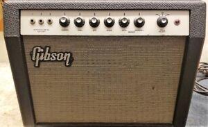 1966 Gibson 15W Tube Combo Amp