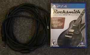 Rocksmith ver. 2014 - PS4 w/ cable