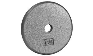 Northern Lights Regular Cast Iron Weight Plate, 7.5lbs WPR07