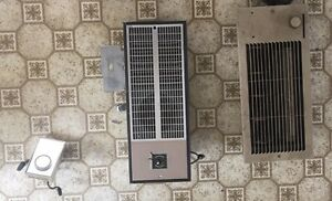 Electric entrance and baseboard heaters