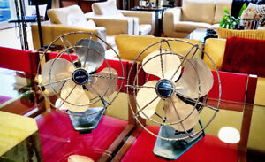 Torcan electric metal table fans