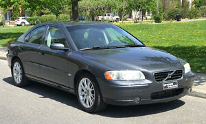 Rare opportunity 2006 Volvo S60 T5 6 spd man only 89,000 km