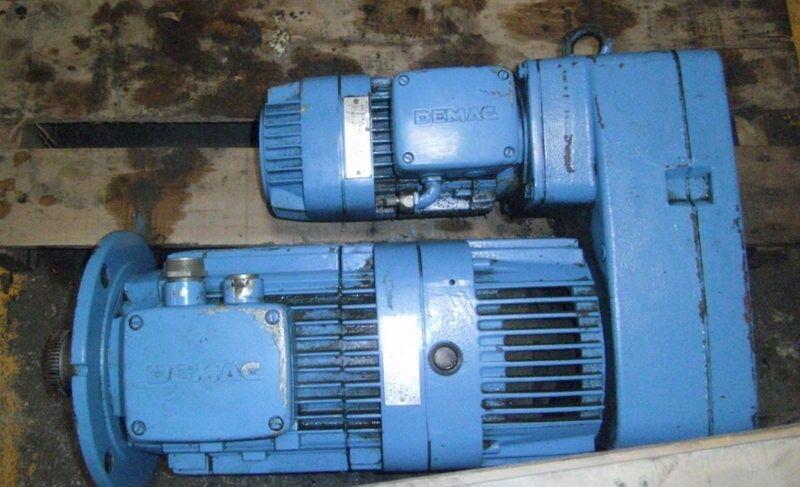 DEMAG 9.9:1 RATO MICROSPEED UNIT 11 kW , FG08-B5-U0-H1-F1 *PZB*