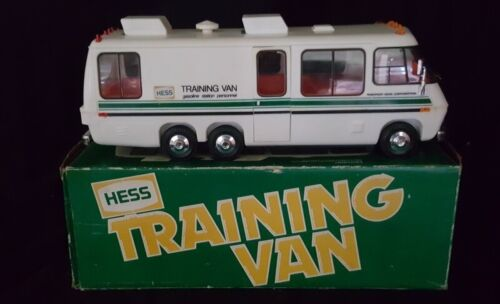 HESS TRAINING VAN w/ ORIGINAL BOX - 1978 VINTAGE COLLECTIBLE - AWESOME CONDITION