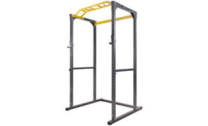 Full Gym Set: Power Rack, Bench, Olympic Bar & Weights