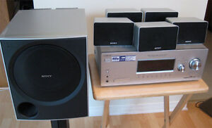 5.1 Sony home theatre system 900 watts