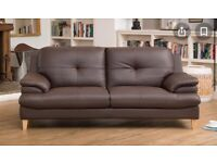 2 Leather Sofa's for sale - 3 Seater & 2 Seater