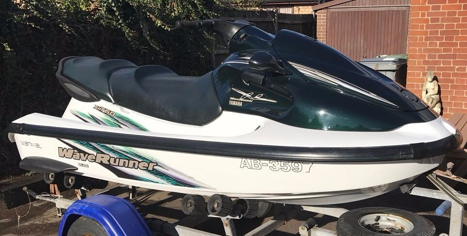 Yamaha WaveRunner XL760 Jetskiin Brundall, NorfolkGumtree - Yamaha XL760 WaveRunner, 1999, 180hrs of run time (Avg 10hrs per year use). Very good condition, owned last 4 years. 2 stroke 760cc twin cylinder motor, full auto lube, electric start, reverse, Heavy duty trailer, 2 x wide tyre & beach wheels perfect...