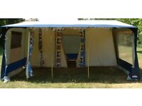 Extra Large Cabanon Espace Frame Tent - 8 Berth