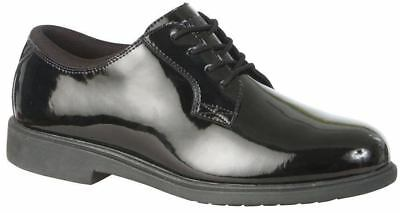 Magnum Mens PARADE DUTY GLOSS Black Shoes 5098 size 8