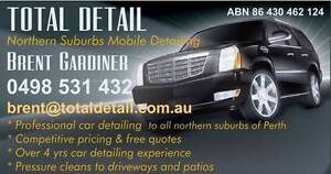 TOTAL DETAIL PERTH - MOBILE CAR DETAILER  - WE DRIVE TO YOU! Perth Perth City Area Preview