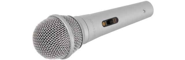 QTX Recording Karaoke PA DJ Music XLRF to 6.3mm Jack Lead Dynamic Microphone