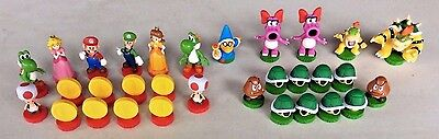 Super Mario Chess Replacement Pieces Bowser Peach Yoshi Daisy Luigi Goomba Bird