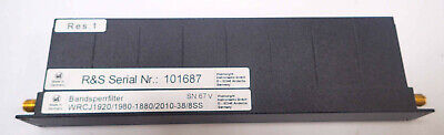 Wainwright Instruments Wrcj19201980-18802010-398ss Band Stop Reject Filter