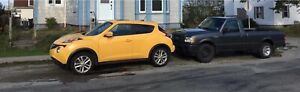 SUV Nissan Juke 2015 and TRUCK Ford Ranger 2008