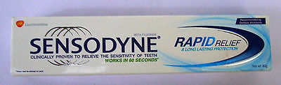 Sensodyne : Rapid Relief Toothpaste : 80 GM : For Sensitive Teeth : Tooth Paste