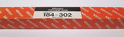 Mitutoyo 184-302 Thickness Gage 0.03 - 0.05 Mm