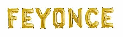 FEYONCE Gold Letter Balloons - Bridal Shower- Engagement Party Balloons- US SHIP](Engagement Party Balloons)