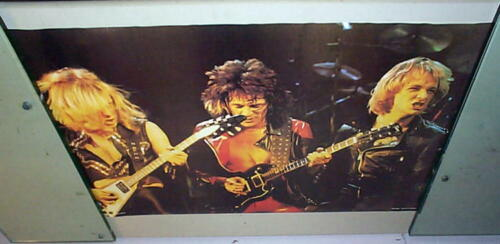 JUDAS PRIEST Very Vintage Stage Group POSTER New Condition