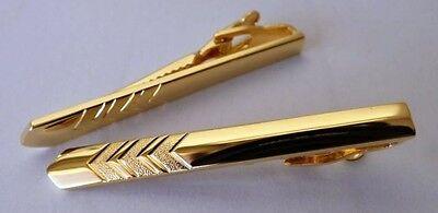 Krawattennadel Krawattenklammer Krawattenclip Krawattenspange Farbe Gold